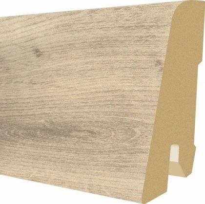 Plinta MDF Egger 60x17 mm culoare Stejar Arlington crem