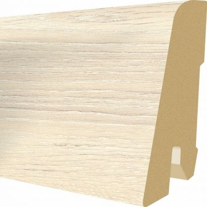 Plinta MDF Egger 60x17 mm culoare Stejar Chalky