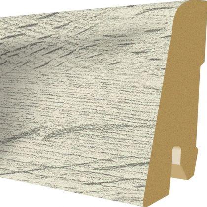 Plinta MDF Egger 60x17 mm culoare Stejar Verdon alb