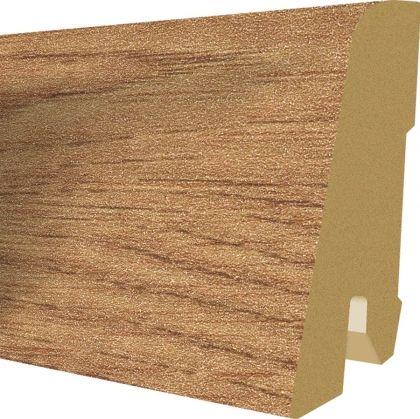 Plinta MDF Egger 60x17 mm culoare Stejar Shannon miere