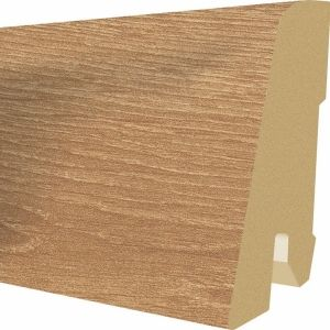 Plinta MDF Egger 60x17 mm culoare Stejar Verdon autentic