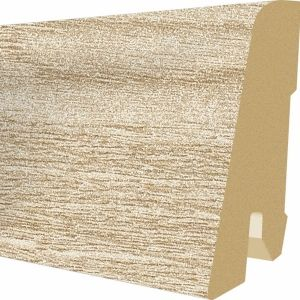 Plinta MDF Egger 60x17 mm culoare Stejar Northland deschis