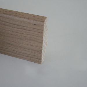 Plinta din lemn 19x58x2500 mm Karelia Oak Vanilla/Arctic