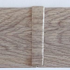 Set 4 buc. piese Lineco imbinare mijloc pentru plinta PVC culoare stejar Mocha
