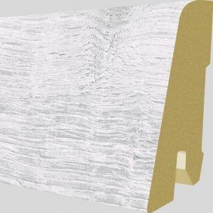 Plinta MDF Egger 60x17 mm culoare Stejar Waltham Alb