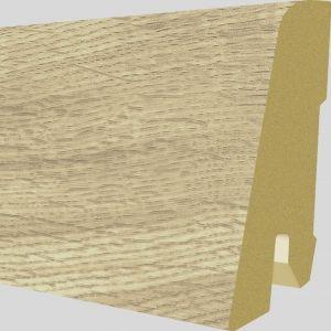 Plinta MDF Egger 60x17 mm culoare Stejar Dunnington Deschis
